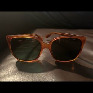 New Gucci square 57mm cat eye sunglasses GG0022S